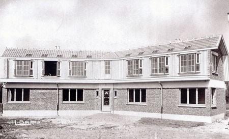 Holubník postavený v roku 1951